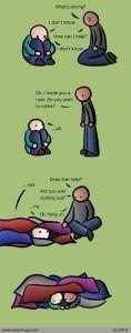 depressionhiding